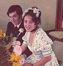 Alan and Carolyn 41 years ago